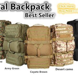 mochila militar 8812 para viaje alta capacidad