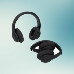 Auriculares plegables con cable ideales para mochila inteligente